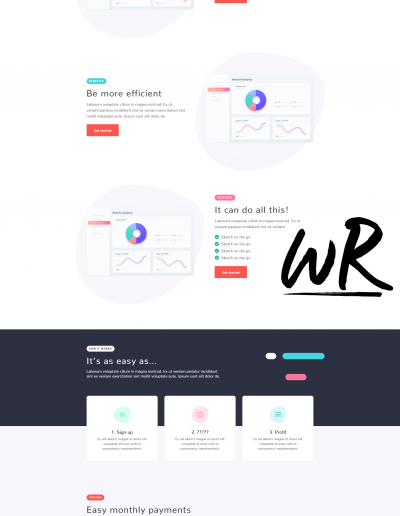 Software Onepage